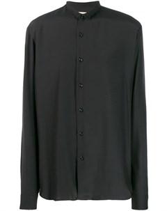 Sartorial monk рубашка на пуговицах с узким воротником Sartorial monk
