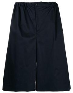 Sartorial monk шорты широкого кроя 48 синий Sartorial monk