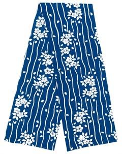 Blue blue japan платок с цветочным принтом Blue blue japan