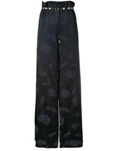 mother of pearl широкие брюки с цветочным принтом Mother of pearl