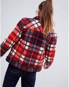 Куртка из ткани с добавлением овечьей шерсти Tommy Hilfiger Hilfiger denim