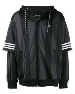 Adidas originals by alexander wang спортивная куртка l черный Adidas originals by alexander wang