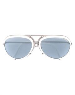 Porsche design солнцезащитные очки в круглой оправе Porsche design