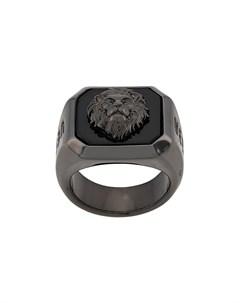 Versus кольцо с тиснением Versus