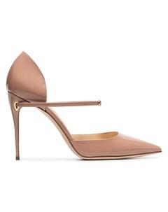 Jennifer chamandi лакированные туфли лодочки eric 105 нейтральные цвета Jennifer chamandi