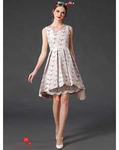Платье цвет розовый Une fleur