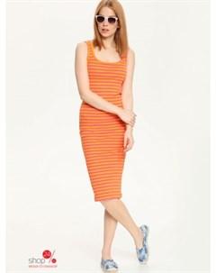 Платье цвет оранжевый Troll