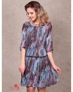 Платье цвет синий Bravissimo