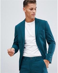 Сине зеленый блейзер Wedding Lindbergh