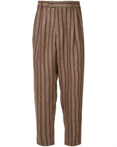 Sartorial monk брюки в полоску Sartorial monk