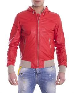 Кожаные куртки спортивные Ad milano