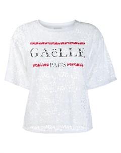 Gaelle bonheur кружевная блузка футболка Gaelle bonheur