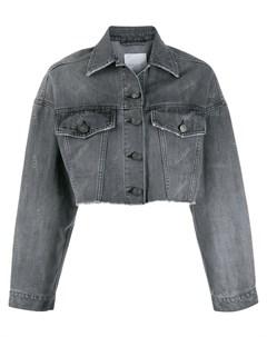 Gaelle bonheur укороченная джинсовая куртка Gaelle bonheur