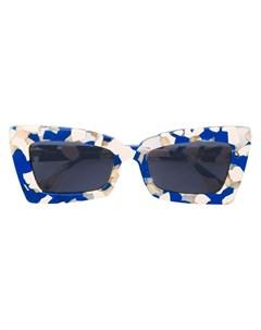 Le specs солнцезащитные очки в квадратной оправе с затемненными линзами нейтральные цвета Le specs