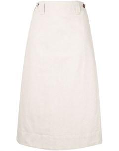 Margaret howell юбка миди прямого кроя нейтральные цвета Margaret howell