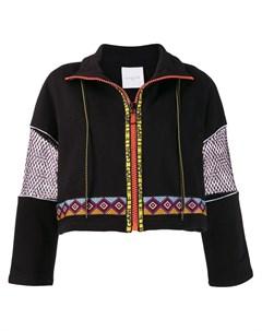 Gaelle bonheur куртка с ацтекским узором Gaelle bonheur