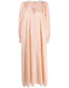 Indress платье с v образным вырезом нейтральные цвета Indress