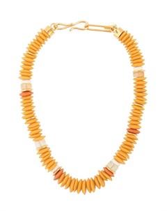 Lizzie fortunato jewels колье laguna один размер желтый Lizzie fortunato jewels