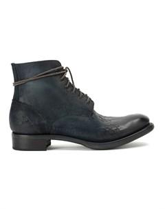 Cherevichkiotvichki ботинки на шнуровке 40 синий Cherevichkiotvichki
