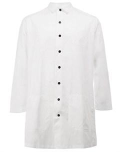 Christopher nemeth рубашка с английским воротником s белый Christopher nemeth