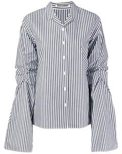 Jourden рубашка в полоску 40 синий Jourden