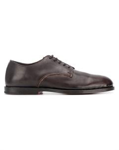 Measponte классические туфли на шнуровке 42 коричневый Measponte