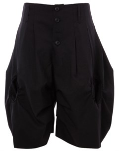 Christopher nemeth объемные шорты один размер черный Christopher nemeth