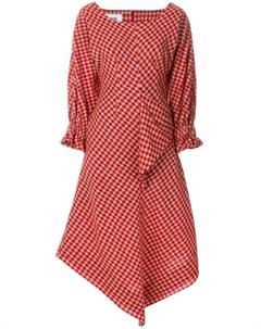 Vejas платье в клетку Vejas