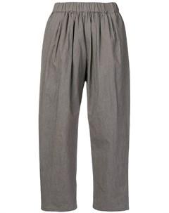 Apuntob укороченные брюки с эластичным поясом Apuntob