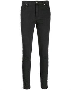 Gaelle bonheur джинсы скинни средней посадки 26 черный Gaelle bonheur