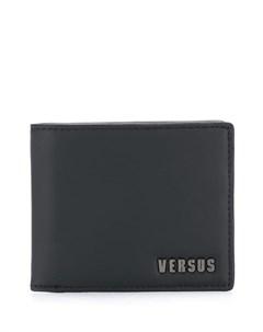 Versus бумажник с логотипом один размер черный Versus