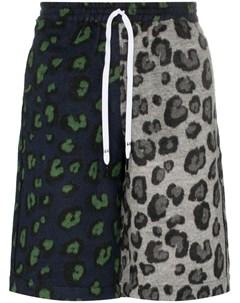 Liam hodges шорты с леопардовым принтом Liam hodges