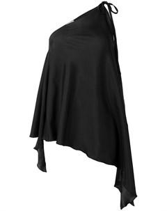 Danielapi блузка без рукавов один размер черный Danielapi