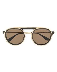 Thierry lasry солнцезащитные очки ghosty 51 золотистый Thierry lasry