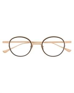 Thierry lasry очки в круглой оправе Thierry lasry