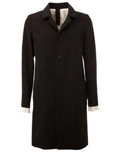 L eclaireur пальто shigoto l черный L'eclaireur