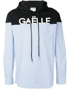 Gaelle bonheur худи оригинального дизайна с логотипом Gaelle bonheur