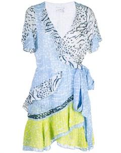 Tanya taylor платье с запахом Tanya taylor