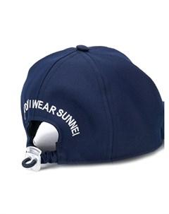 sunnei кепка с вышитым логотипом Sunnei