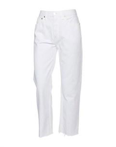 Джинсовые брюки Re/done