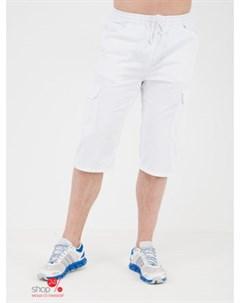 Бермуды карго цвет белый Klingel