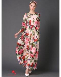 Платье цвет мультиколор Une fleur