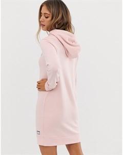 Супермягкое платье свитер Розовый Superdry