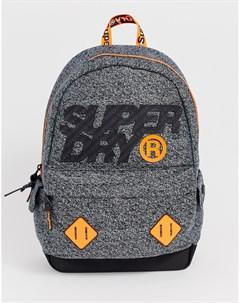 Серый рюкзак с логотипом montana Superdry