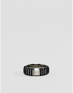 Серебристое кольцо EGS2537040 Серебряный Emporio armani