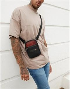Черно оранжевая сумка Sport Superdry