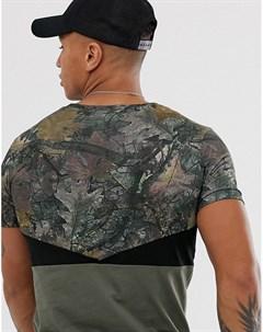 Камуфляжная футболка Hype