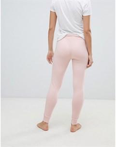 Пижамные брюки скинни Розовый Superdry