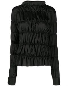 Jourden атласная блузка varie 36 черный Jourden