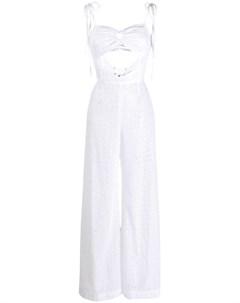 Daizy shely комбинезон с английской вышивкой 44 белый Daizy shely